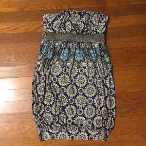 Baby phat strapless dress